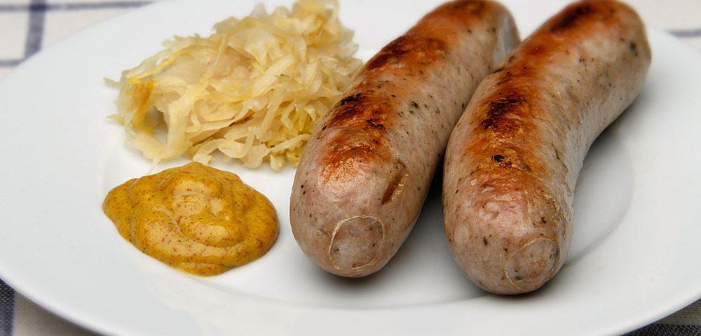 Cooked Bratwurst