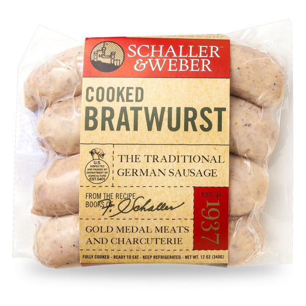 Cooked Bratwurst - Retail Pack