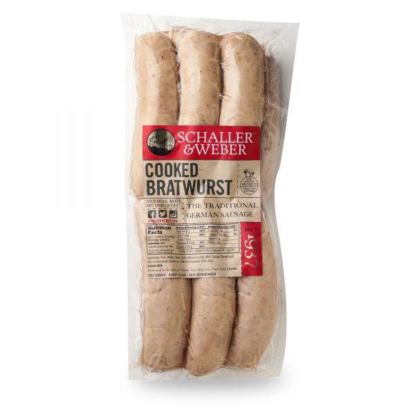 Cooked Bratwurst - Bulk Pack