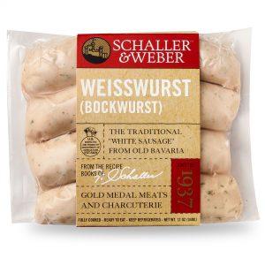 Weisswurst (Bockwurst) - Retail Pack