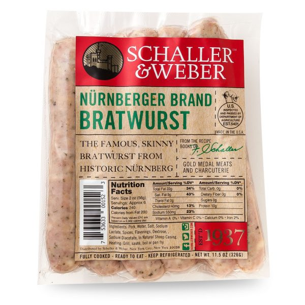 Nürnberger Bratwurst - Retail Pack