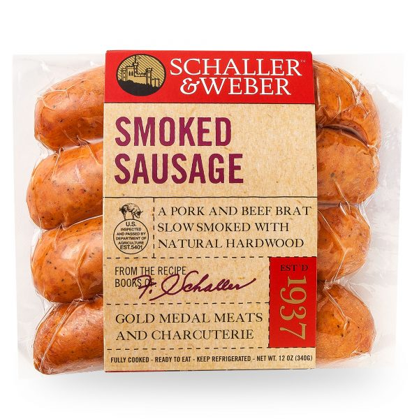 Smoked Sausage - Retail Pack