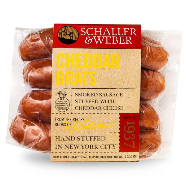 Cheddar Brats - Retail Pack