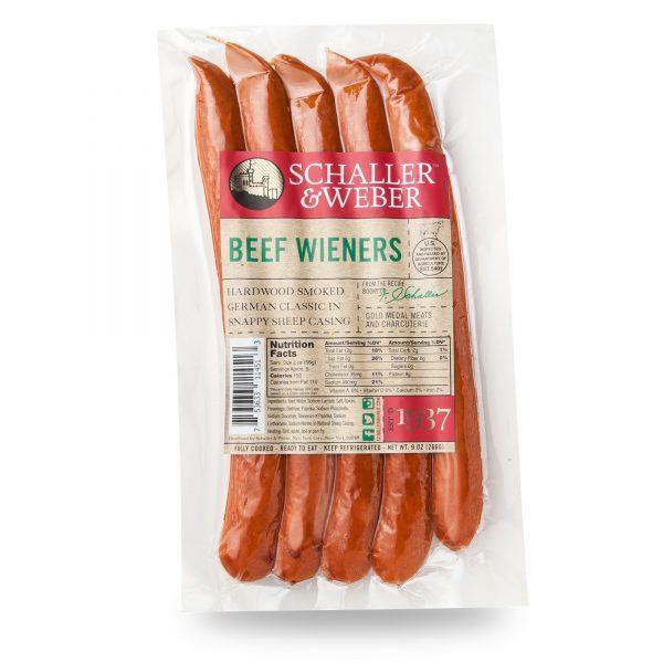 Beef Weiners - Retail Pack