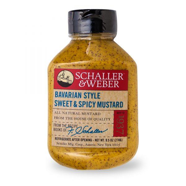 Bavarian Sweet & Spicy Mustard - Package