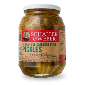 German Delicatessen Pickles - Package
