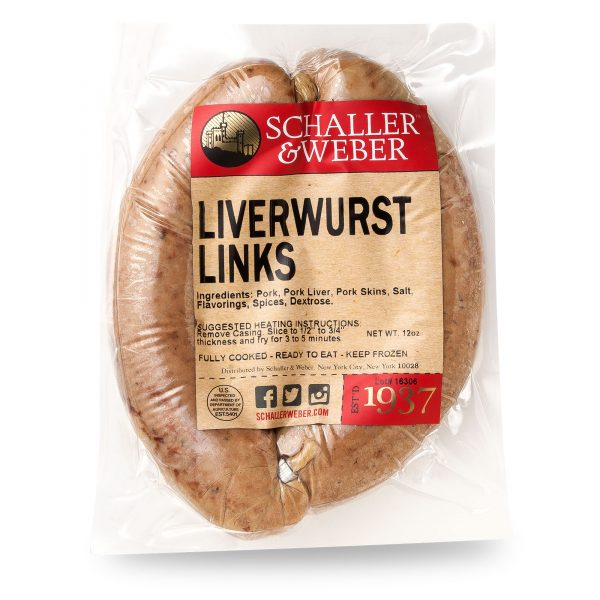 Liverwurst Links - Package