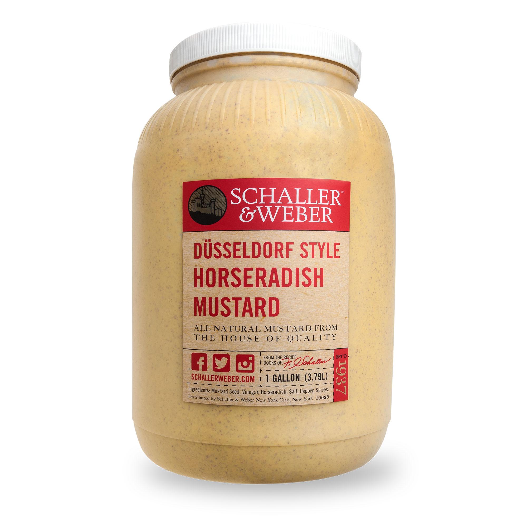 düsseldorf horseradish mustard schaller weber
