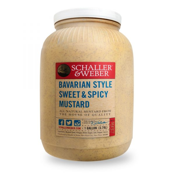 Bavarian Sweet & Spicy Mustard - Wholesale Package