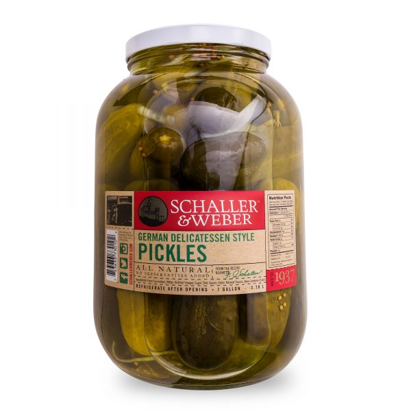German Delicatessen Pickles - Package - Wholesale