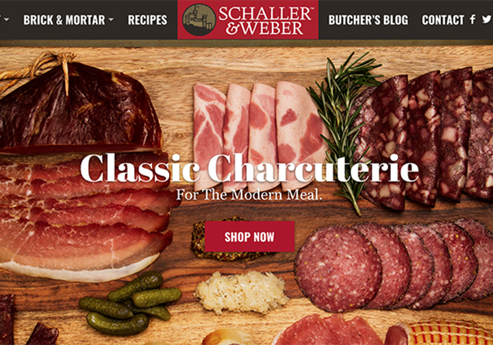 Schaller & Weber new website