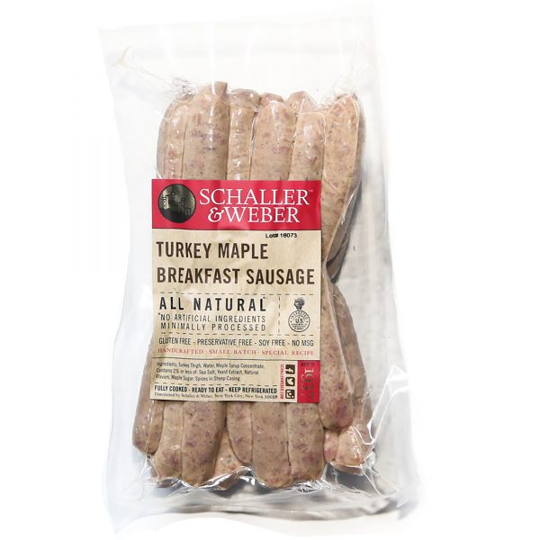 Turkey Maple Breakfast Sausage Bulk Pack