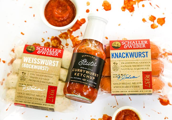 Schaller's Stube Currywurst Ketchup
