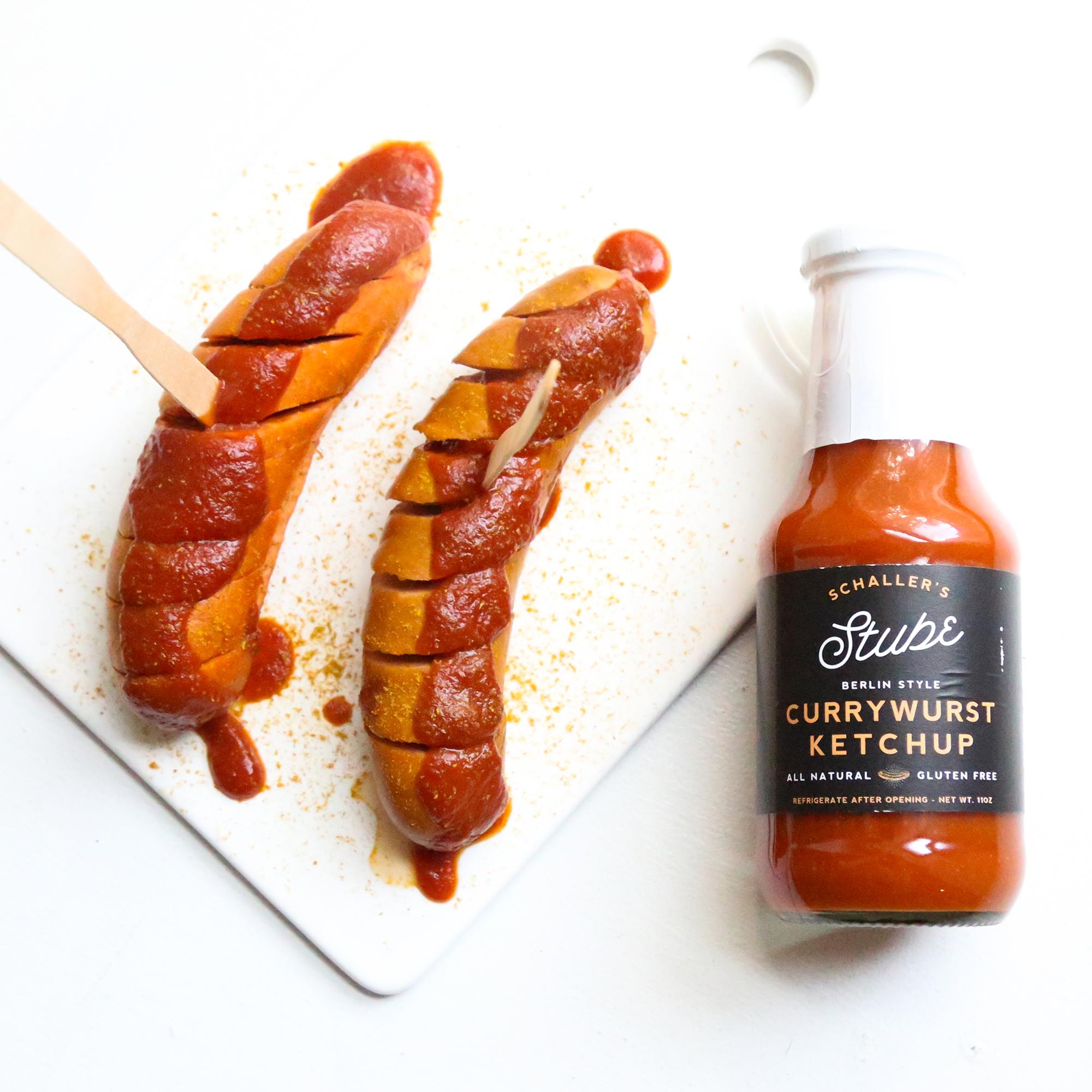 berlin style currywurst ketchup schaller weber. Black Bedroom Furniture Sets. Home Design Ideas
