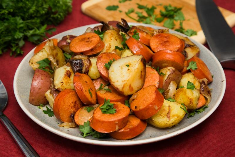 Ring Bologna Bratkartoffeln Fried Potatoes Schaller Weber